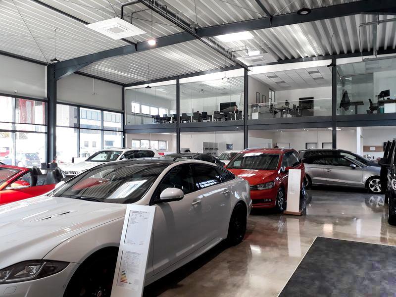 Autohaus Kundenbereich