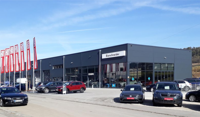 Autohaus in Greding