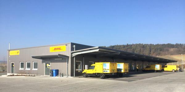 Logistikhalle in Bad Neustadt