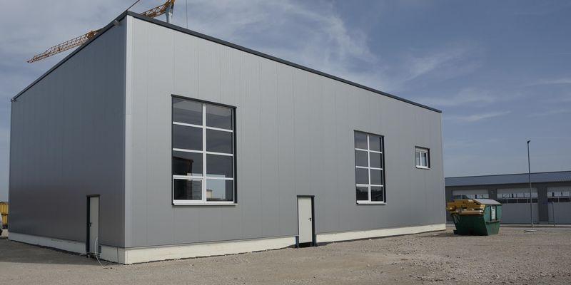 Werkstatthalle in Burgoberbach
