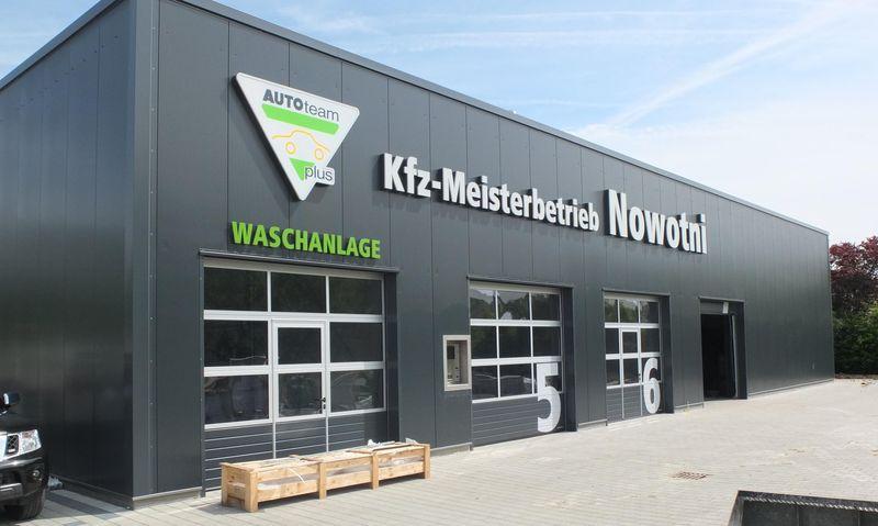 Werkstatthalle in Dettingen