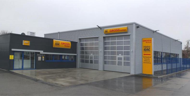 Werkstatthalle in Merklingen